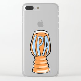 India Pale Ale Clear iPhone Case