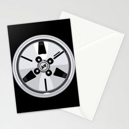Wheel Design Retro JDM Racing Dish Stationery Cards
