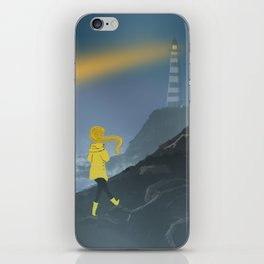 Hope of a Lighthouse iPhone Skin