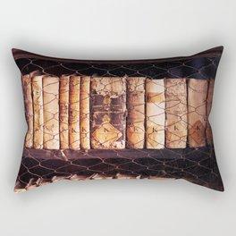 Vintage books Rectangular Pillow