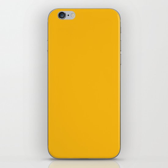 Spanish yellow - solid color by makeitcolorful