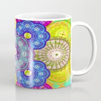psychedelic Mugs featuring psychedelic  by Thedevilguru