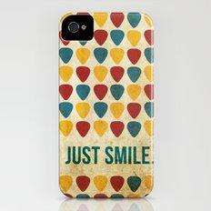 Just Smile. iPhone (4, 4s) Slim Case