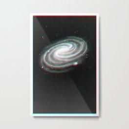 Redshift Blueshift Galaxy Print Metal Print