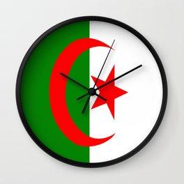 Flag of Algeria Wall Clock