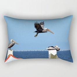 Pelicans Rectangular Pillow