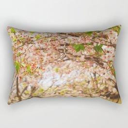 Cherry Blossom (sunny) Rectangular Pillow