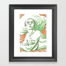 Summer Girl 3 Framed Art Print
