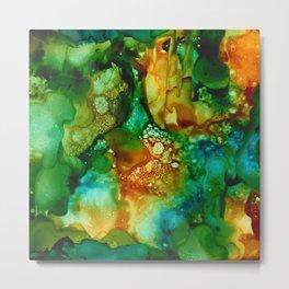 Emerald Impressions Metal Print