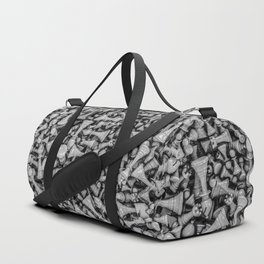 Chess B&W Duffle Bag