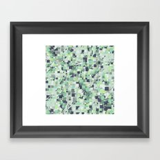 Cubic  Framed Art Print