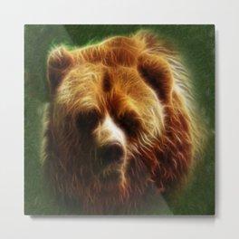 The Bear Spirit Metal Print