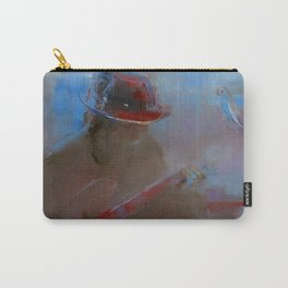 """""""Guitar Player"""" by Diana Grigoryeva Carry-All Pouch"""
