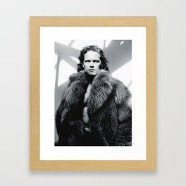sam heughan Framed Art Print