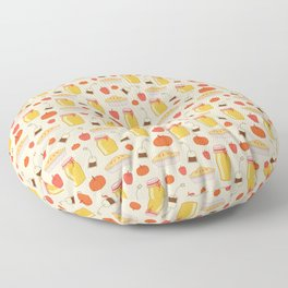 Autumn kitchen Floor Pillow