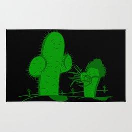 Cactus Scissorhands Rug