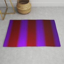Shimmering Neon Lights. Purple and Garnet Red. Rug