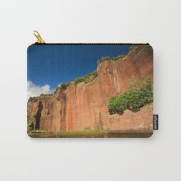 Tall red rock Carry-All Pouch