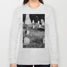 4x5 film photograph. Minimal edits and filters. It's part of the chemical process. Long Sleeve T-shirt