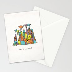 Monster Tower II Stationery Cards