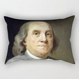 Benjamin Franklin Rectangular Pillow