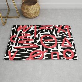 Graffiti 001 Rug
