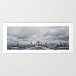 Millenium Bridge Art Print