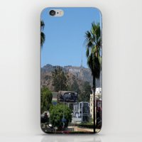 hollywood iPhone & iPod Skins featuring Hollywood by Elizabeth Tompkins