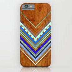 Aztec Arbutus Blue iPhone 6 Slim Case