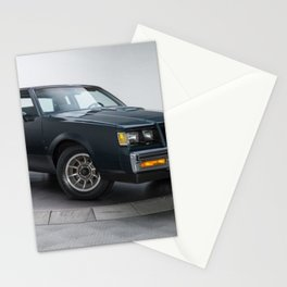 GM Dark Blue Grand National Regal T-type Turbo T Stationery Cards
