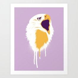 Eagle Head Art Print