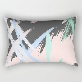 Expression stroke Rectangular Pillow