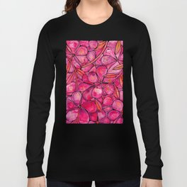 Orchid Wall – Magenta Palette Long Sleeve T-shirt