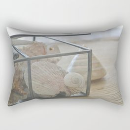 Down by the Seashore Rectangular Pillow