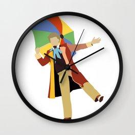 Sixth Doctor: Colin Baker Wall Clock