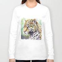jaguar Long Sleeve T-shirts featuring Jaguar by Juan Pablo Cortes