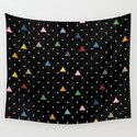 Pin Point Triangles Black by projectm