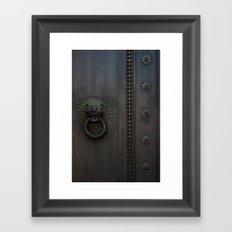 Dark Entry  Framed Art Print