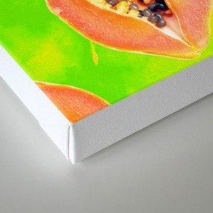 Papaya #society6 #decor #buyart Canvas Print