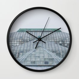 Conservatory - Chicago Photography Wall Clock