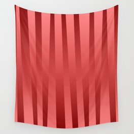 Red gradient Wall Tapestry