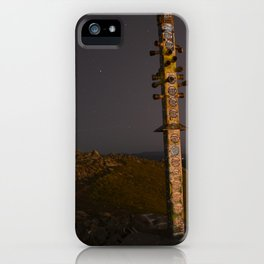 Mission Peak Totem Pole iPhone Case