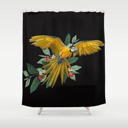 Ara Ararauna Shower Curtain