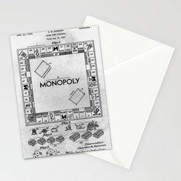 Monopoly Stationery Cards