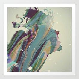 Cognitive Shift Art Print
