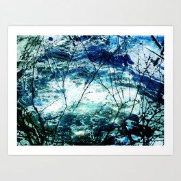 Artic Sea Art Print