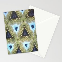 Modern Moroccan Purple and Blue Stationery Cards
