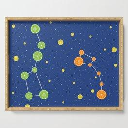 Citrus constellations Serving Tray