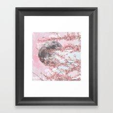Spring Moon Framed Art Print