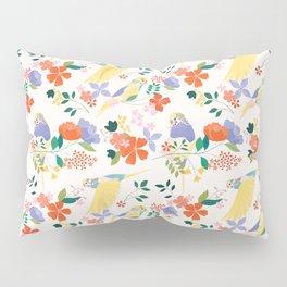 Parakeets Pillow Sham